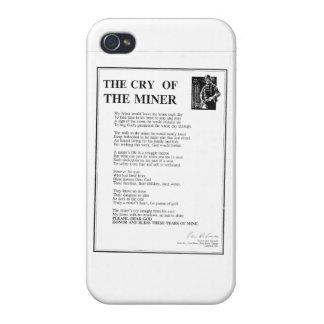 Le cri du mineur étui iPhone 4/4S
