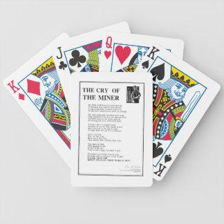 Le cri du mineur jeux de cartes