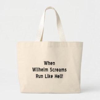 Le cri perçant de Wilhelm Grand Tote Bag