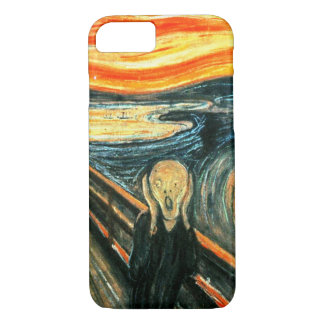 Le cri perçant par Edvard Munch Coque iPhone 7