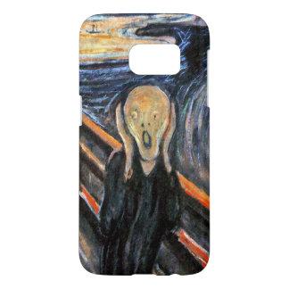 Le cri perçant - peinture mâchez par - CAS CRIARD Coque Samsung Galaxy S7