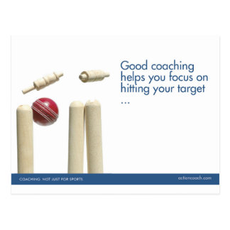 Le cricket folâtre la carte postale