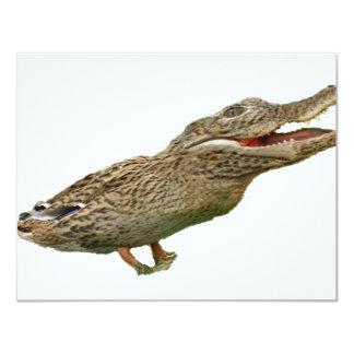 Le Crocoduck Cartons D'invitation Personnalisés