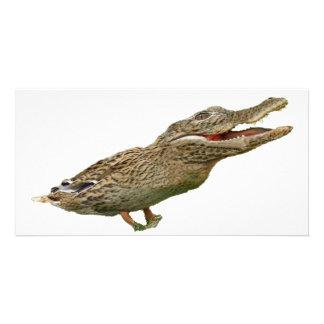 Le Crocoduck Photocartes Personnalisées