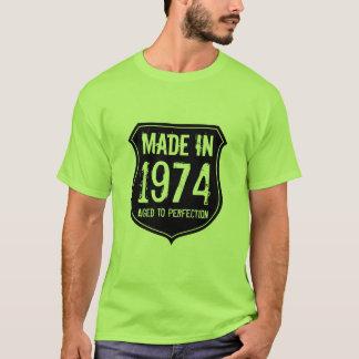 Le cru 1974 a vieilli au T-shirt de perfection