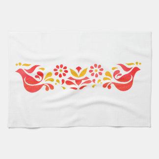 Le cru a inspiré la serviette de thé d'amitié linges de cuisine