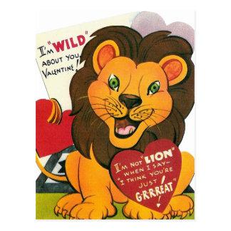 le cru badine des cartes postales de valentine