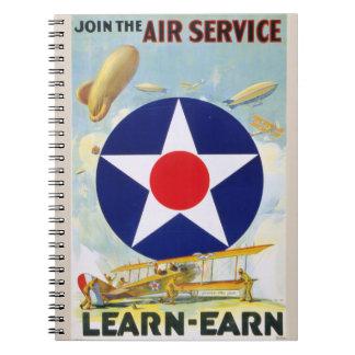 Le cru des USA joignent le service aérien Carnets