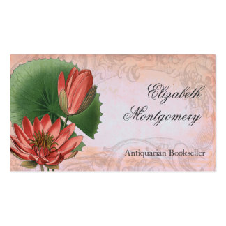 Le cru fleurit les cartes de visite professionnels