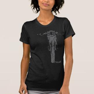 Le cru frontal de coureur de café a dénommé la mot t-shirt