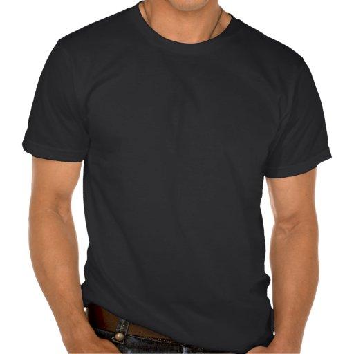 Le cru frontal de coureur de café a dénommé la mot t-shirts