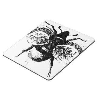 Le cru gaffent l abeille dessous de verre puzzle