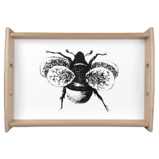 Le cru gaffent l abeille plateau