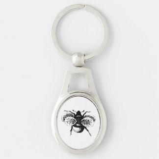 Le cru gaffent l abeille porte-clés