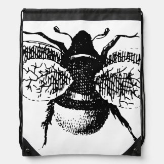 Le cru gaffent l abeille sac à dos