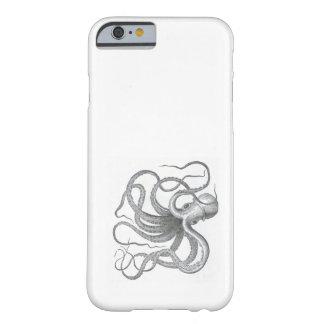 Le cru nautique de poulpe de steampunk kraken la s coque barely there iPhone 6