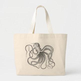Le cru nautique de poulpe de steampunk kraken le d grand sac