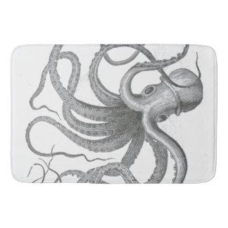 Le cru nautique de poulpe de steampunk kraken le tapis de bain
