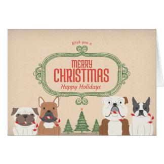 Le cru RENIFLENT la carte de Noël