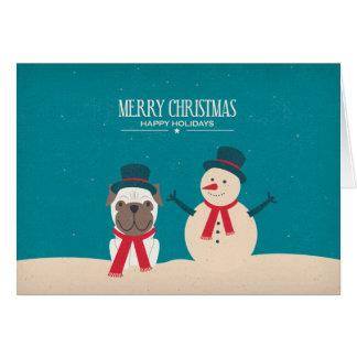 Le cru RENIFLENT la carte de Noël de carlin