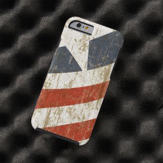 Le cru s'est fané Américain Coque iPhone 6 Tough