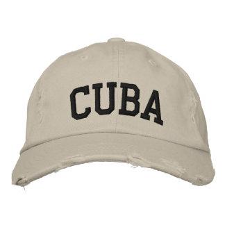 Le Cuba a brodé le casquette