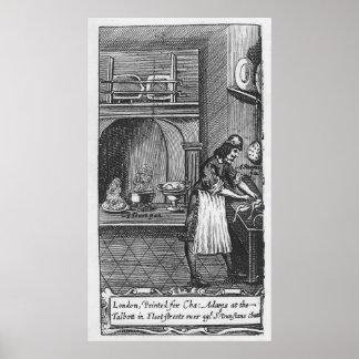 """""""Le cuisinier français"""" par la La Varenne Posters"""