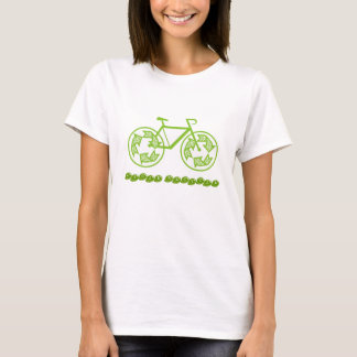 Le cycle réutilisent le T-shirts