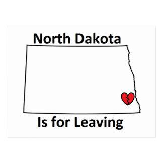Le Dakota du Nord est pour laisser la carte
