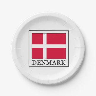 Le Danemark Assiettes En Papier