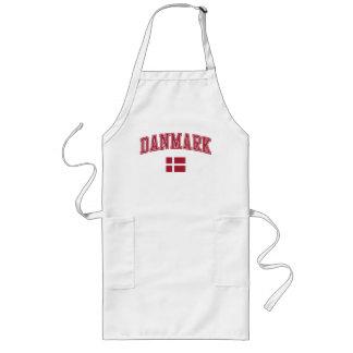 Le Danemark + Drapeau Tablier