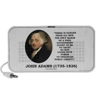 Le danger de John Adams toute la maxime d hommes Haut-parleurs Mp3