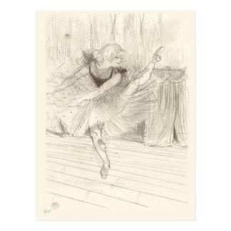 Le danseur classique, Toulouse-Lautrec Cartes Postales