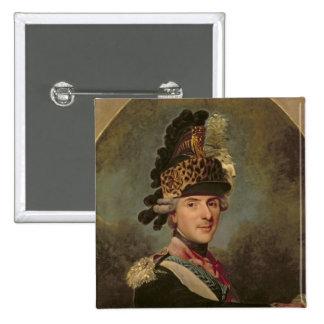 Le dauphin, Louis De France, 1760's Badge Carré 5 Cm