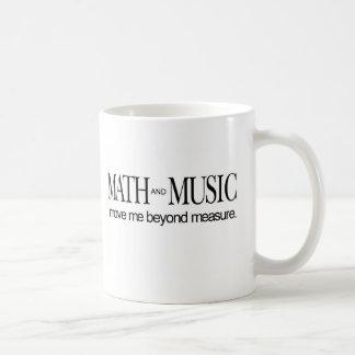 Le _de maths et de musique me déplacent mug