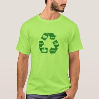 Le ~ de papier de ciseaux de roche réutilisent le t-shirt