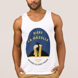 Le débardeur des hommes de gazelle de La de Biere
