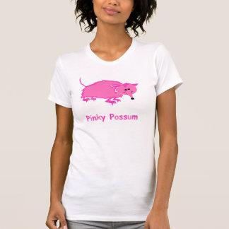 Le débardeur rosâtre des femmes d'opossum