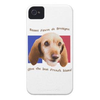 Le deBretagne de Fauve de basset donnent mieux des Coques iPhone 4 Case-Mate