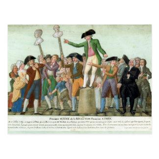 Le début de la révolution française carte postale