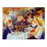 Le déjeuner par Pierre Renoir Cartes Postales