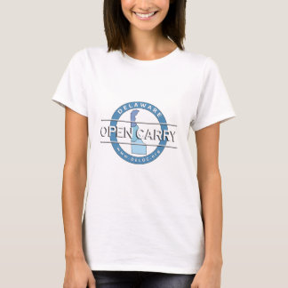 Le Delaware ouvert portent le T-shirt des femmes