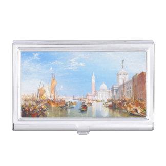 Le della de Venise, de Dogano et Santa Maria Étui Pour Cartes De Visite