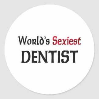 Le dentiste le plus sexy du monde autocollants