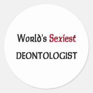 Le déontologue le plus sexy du monde adhésifs