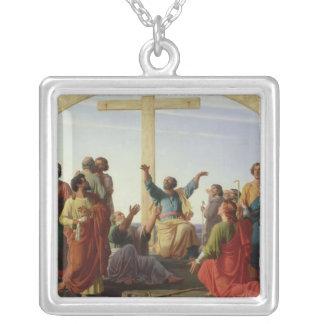 Le départ des apôtres, 1845 pendentif carré