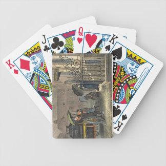 Le départ, plat 'des croquis poétiques de Sc Jeu De Poker