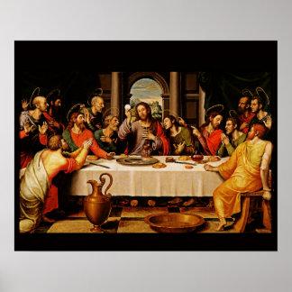 Le dernier dîner - affiche A de Cena de dernière Posters