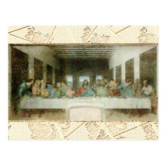 Le dernier dîner cartes postales