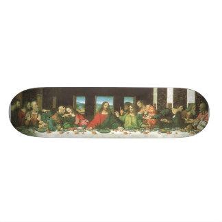 Le dernier dîner skateboard old school 18,1 cm